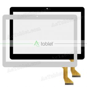 QSF-PGA026-A3 WF Digitizer Glass Touch Screen Replacement for 10.1 Inch MID Tablet PC
