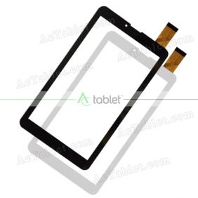 C.FPC.WT1144D070V00 Digitizer Glass Touch Screen Replacement for 7 Inch MID Tablet PC