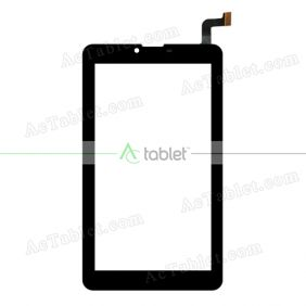VTCP070B080-FPC-1.0 Prestigio Digitizer Glass Touch Screen Replacement for 7 Inch MID Tablet PC