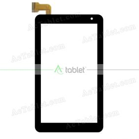 Kingvina PG774-V2 Digitizer Glass Touch Screen Replacement for 7 Inch MID Tablet PC