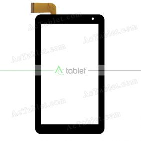 Kingvina PG752-V2 Digitizer Glass Touch Screen Replacement for 7 Inch MID Tablet PC