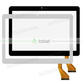 MJK-0957 Digitizer Glass Touch Screen Replacement for 10.1 Inch MID Tablet PC