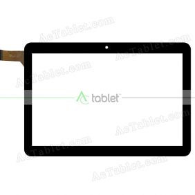 MJK-1211-FPC Digitizer Glass Touch Screen Replacement for 10.1 Inch MID Tablet PC