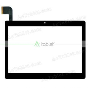 MJK-1124-FPC Digitizer Glass Touch Screen Replacement for 10.1 Inch MID Tablet PC