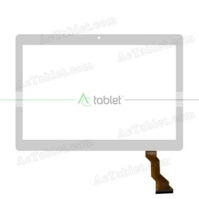 Digitizer Glass Touch Screen Replacement for S106T MT8735 MT6735 Quad Core 4G Phablet 10.6 Inch Tablet PC