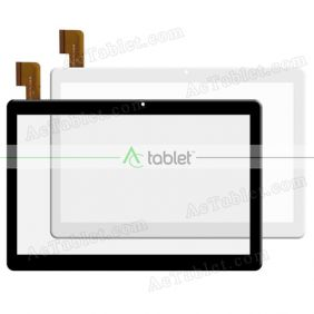 Digitizer Glass Touch Screen Replacement for KuBi X20 10 Inch Deca Core Tablet PC