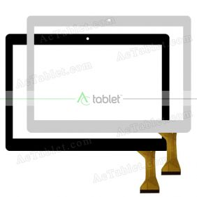 QSF-PGA045-FPC-A1 Digitizer Glass Touch Screen Replacement for 10.1 Inch MID Tablet PC