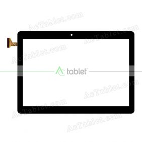 Digitizer Glass Touch Screen Replacement for ALLDOCUBE iPlay10 Pro Android 9.0 Pie Quad Core 10.1 Inch Tablet PC