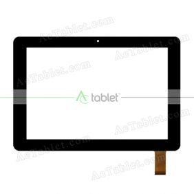 Q057B-FPC-001 Digitizer Glass Touch Screen Replacement for 8 Inch MID Tablet PC