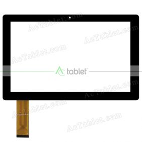 HXD-10227A1-GG-V2.0 Digitizer Glass Touch Screen Replacement for 10.1 Inch MID Tablet PC