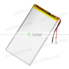 Replacement 4000mah Battery for Envizen V100MD T V100MDT Quad Core 10.1 Inch Tablet PC