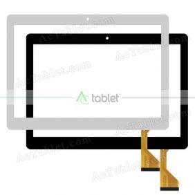 CH-10114A2-L-S10 BH4872 Digitizer Glass Touch Screen Replacement for 10.1 Inch MID Tablet PC