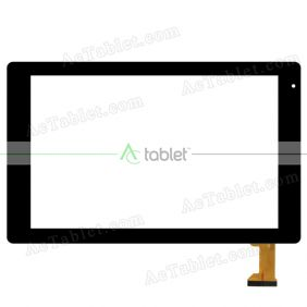 Digitizer Touch Screen Replacement for VANKYO MatrixPad Z10 Android 9.0 Pie Quad Core 10.1 Inch Tablet PC