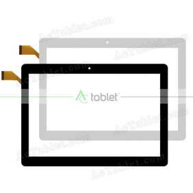 Digitizer Touch Screen Replacement for Naxa NID-1052 10.1 Inch Android 9.0 Quad Core Tablet PC