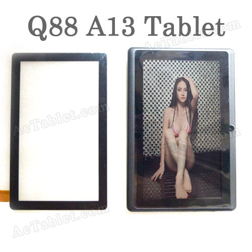 Replacement Touch Screen Panel for 7 Inch All Winner A13 Q88 Tablet PC