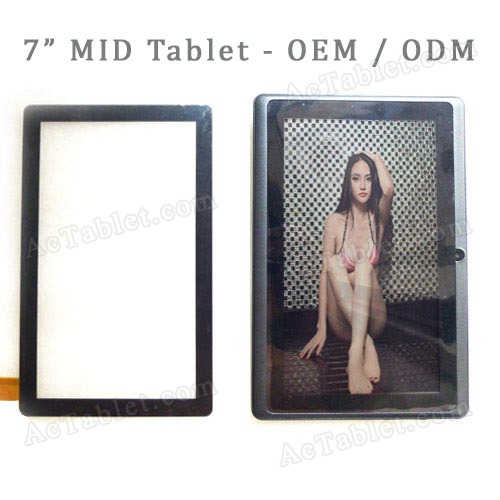 Replacement Touch Screen Panel for 7 Inch AllWinner A13 MID Tablet PC