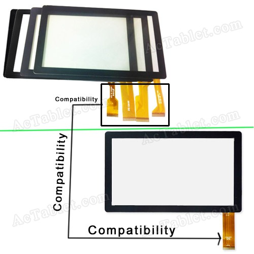 Touch Screen Panel Digitizer Glass - Compatibility