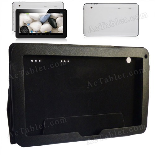 Leather Case Cover Stand for Allwinner A23 A20 10.1 Inch Android Tablet PC MID