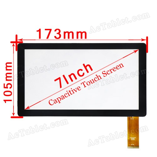 Replacement Touch Screen for iRola DX752 Rockchip2926 Cortex-A9 MID 7