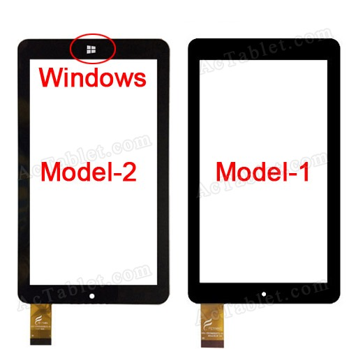 Digitizer Touch Screen Replacement for PendoPad PNDPPW81Q17 7 Inch Tablet PC