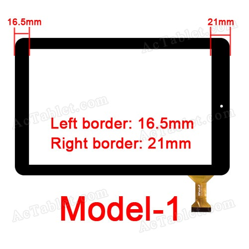 Model-1 for for RCA 10 RCT6303W87 Viking Pro 10.1 Inch Tablet PC