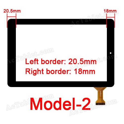 Model-2 for for RCA 10 RCT6303W87 Viking Pro 10.1 Inch Tablet PC