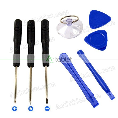 8 in 1 Repair Opening Pry Tools Screwdrivers Kit
