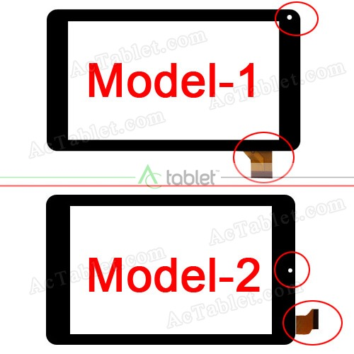 Two Models: Different Camera Hole Position and Cable